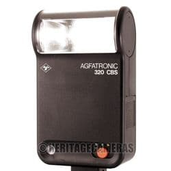 Powerful Agfa Bounce Thyristor Auto Manual Hot Shoe Flash Unit for many Film or some Digital Cameras